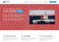 Coup WordPress Charity & Political Theme