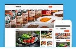Live Magazine WordPress Underscore S Framework Theme