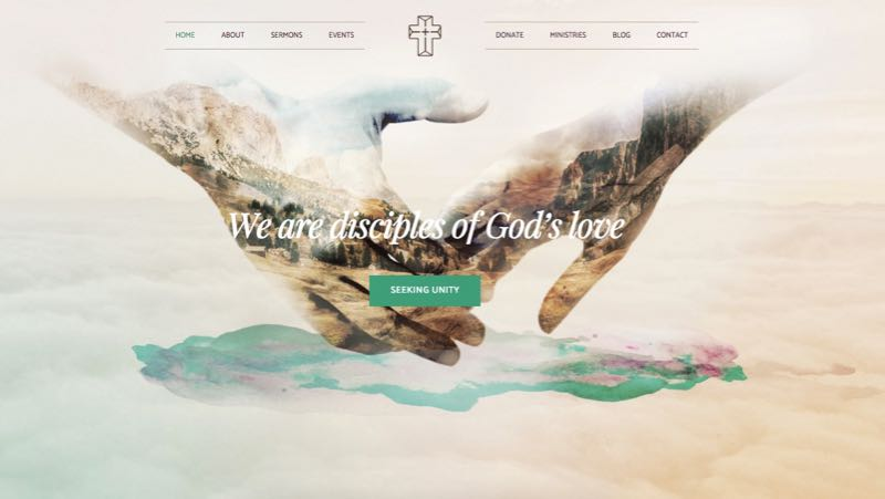 Creed WordPress Church & Non-profit Organization Theme
