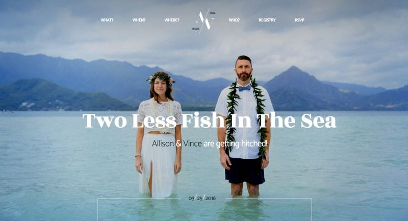 Hitched WordPress Wedding Brides & Grooms Theme
