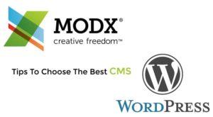WordPress-or-ModX