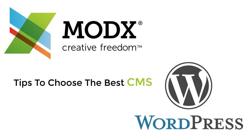 Tips To Choose The Best CMS – WordPress or ModX