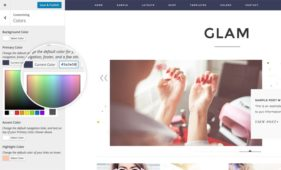 Glam Pro WordPress Fashion or Lifestyle Theme