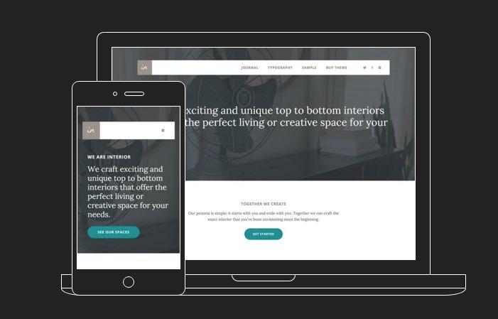 Interior Pro WordPress Theme for Branding Digital Agency