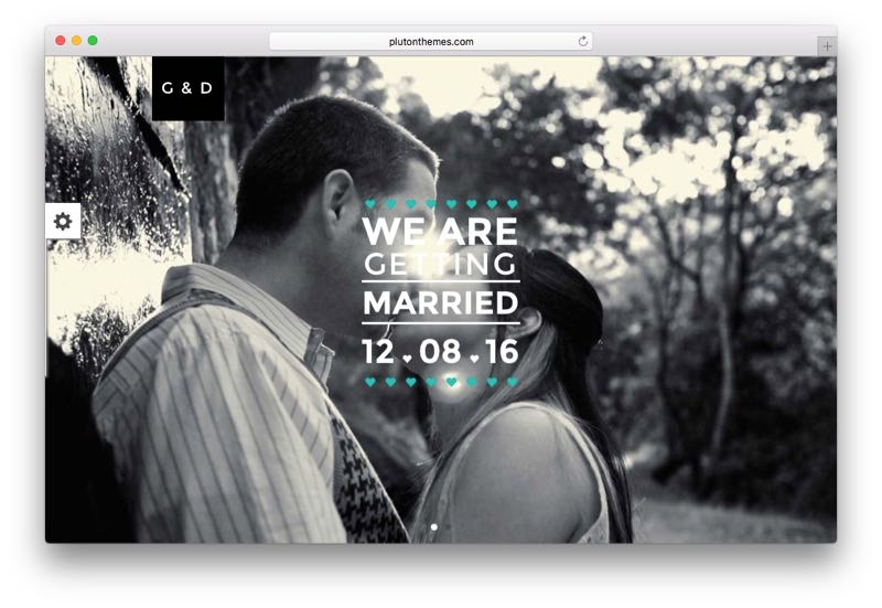 LUV WordPress Wedding Event Theme