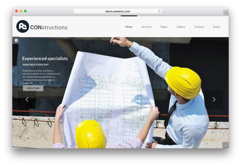 PE Services Multipurpose business WordPress Theme