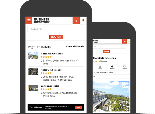 Responsive WordPress Business Directory Theme