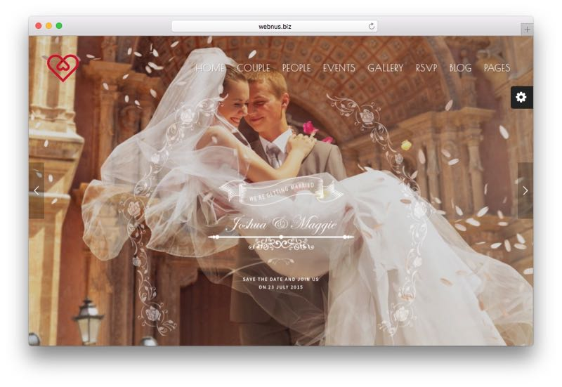 Wedding Suite WordPress Wedding Organizer Planner Theme