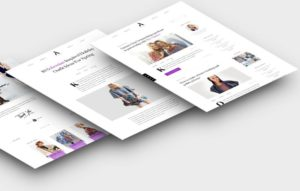 Aesthetic WordPress Lifestyle Bloggers Theme
