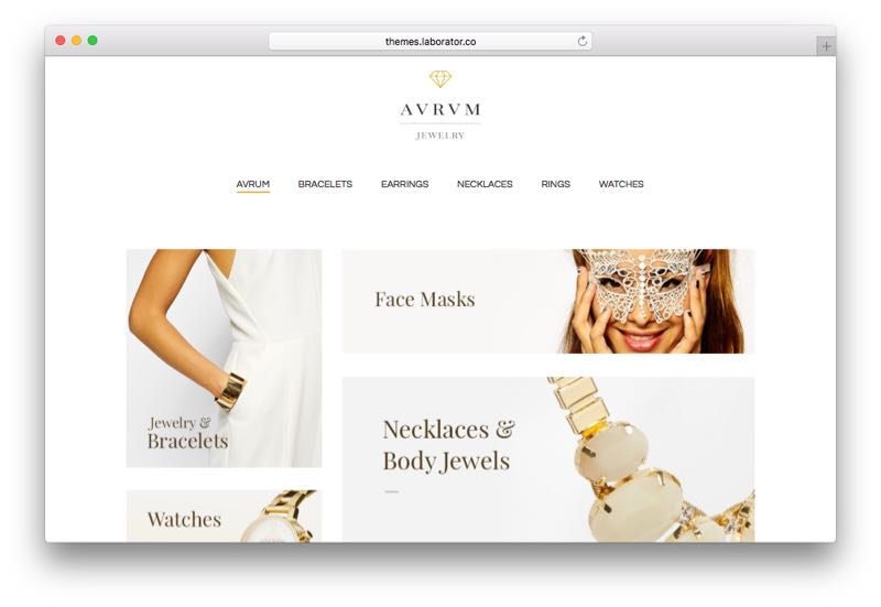 Aurum SEO Optimized Minimalist WordPress WooCommerce Theme