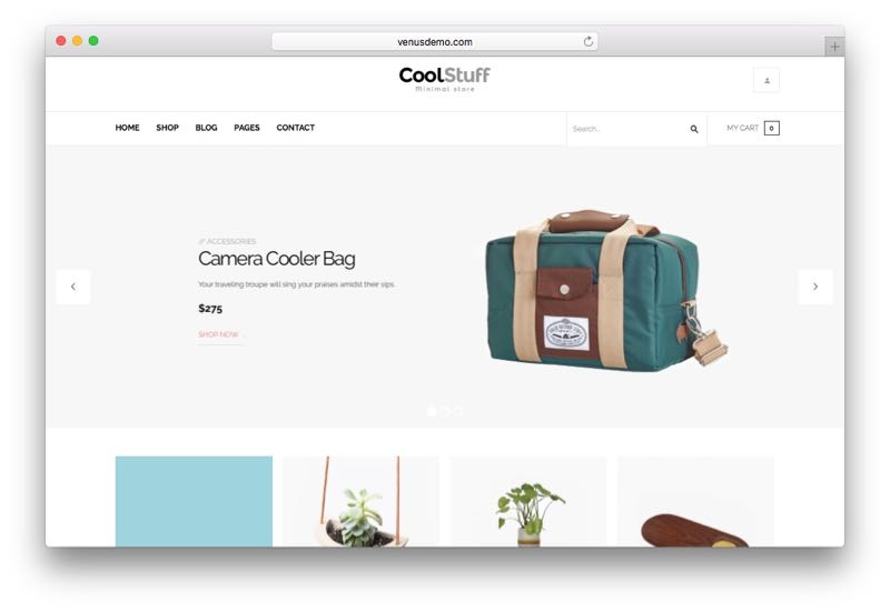 CoolStuff Minimal Store WordPress WooCommerce Theme