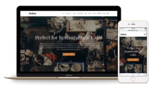 Delicio WordPress Restaurants Theme – Responsive Layout