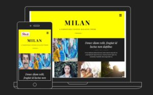 Milan Pro Fashion Forward Magazine WordPress Theme