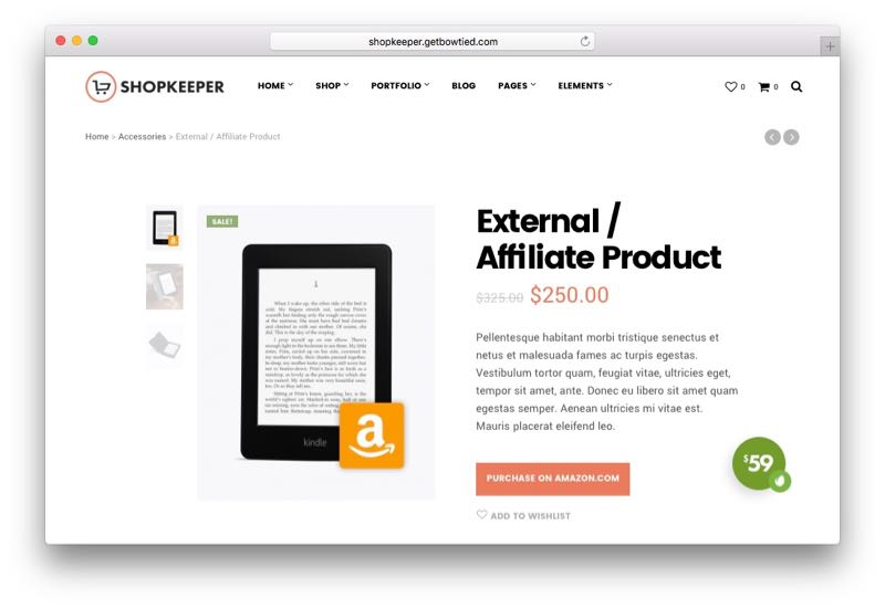 Shopkeeper Hassle-Free WordPress WooCommerce Theme