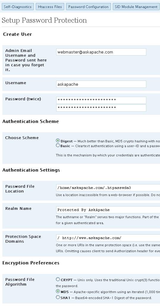 AskApache Password Protect Plugin