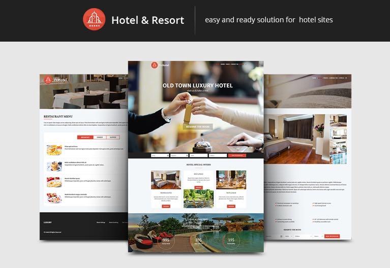 PE Hotel WordPress Theme for Hotels & Resorts