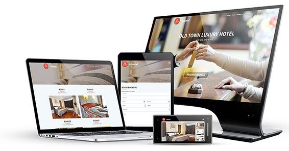 Responsive Web Design - PE Hotel