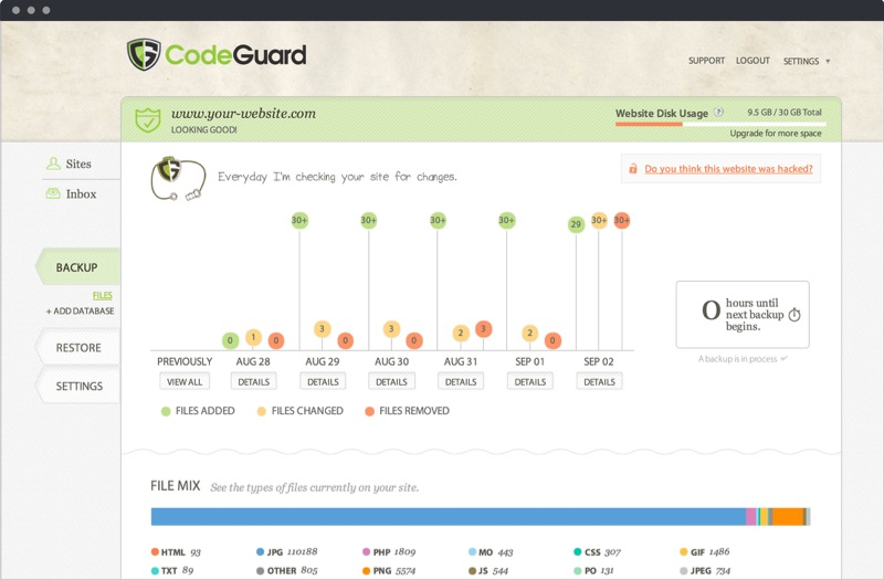 codeguard wp security plugin