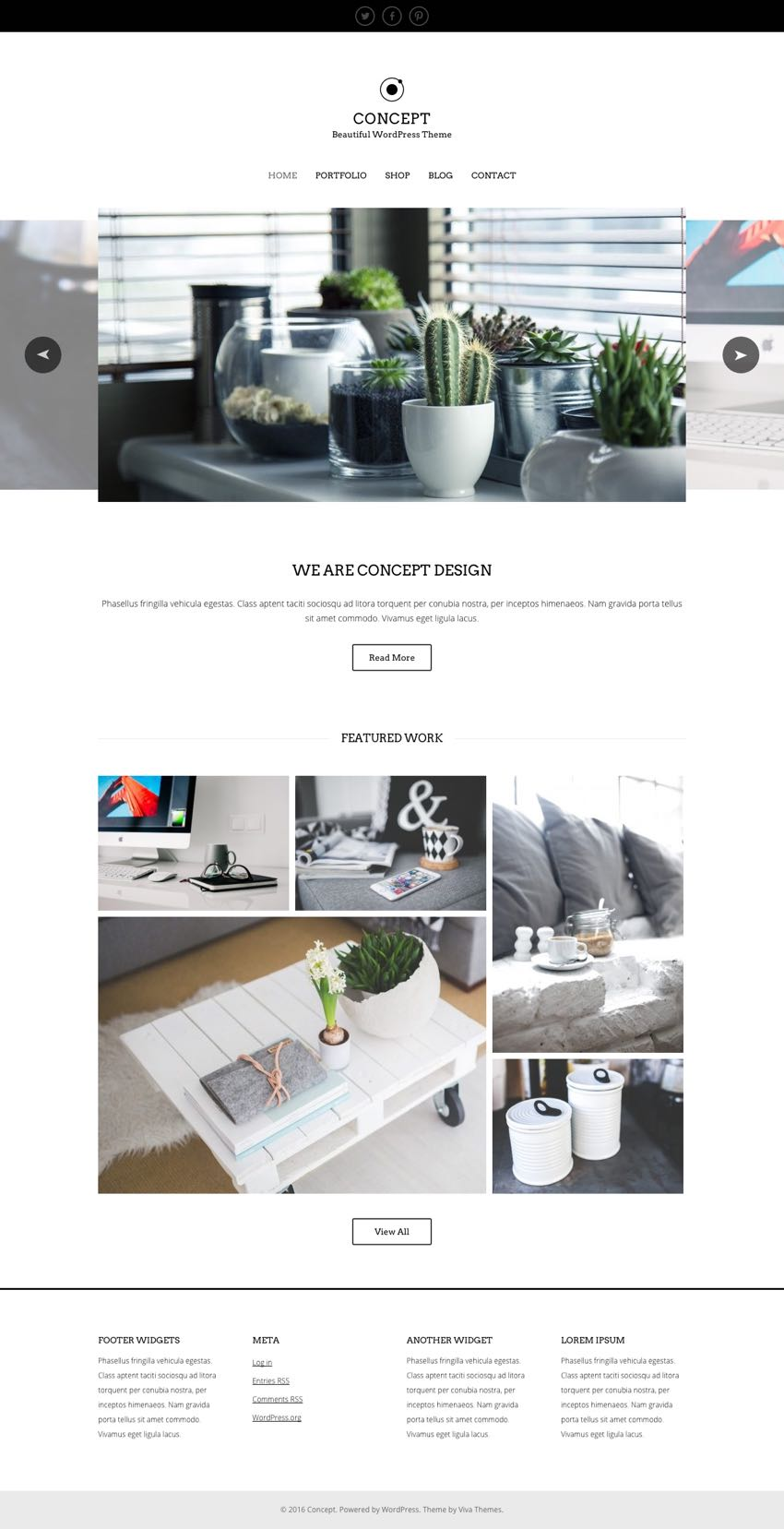 Concept WordPress Theme