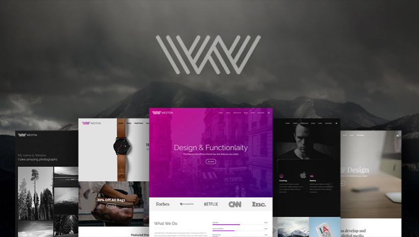 Weston WordPress Multipurpose Theme