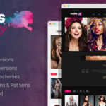 Models Agency WordPress Fashion Show or Modelling Agency Theme