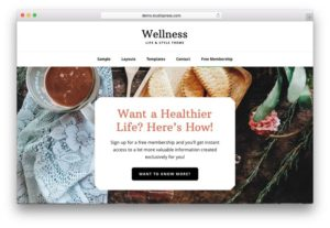 Wellness Pro WordPress Theme