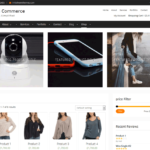 Clean Commerce WordPress Theme