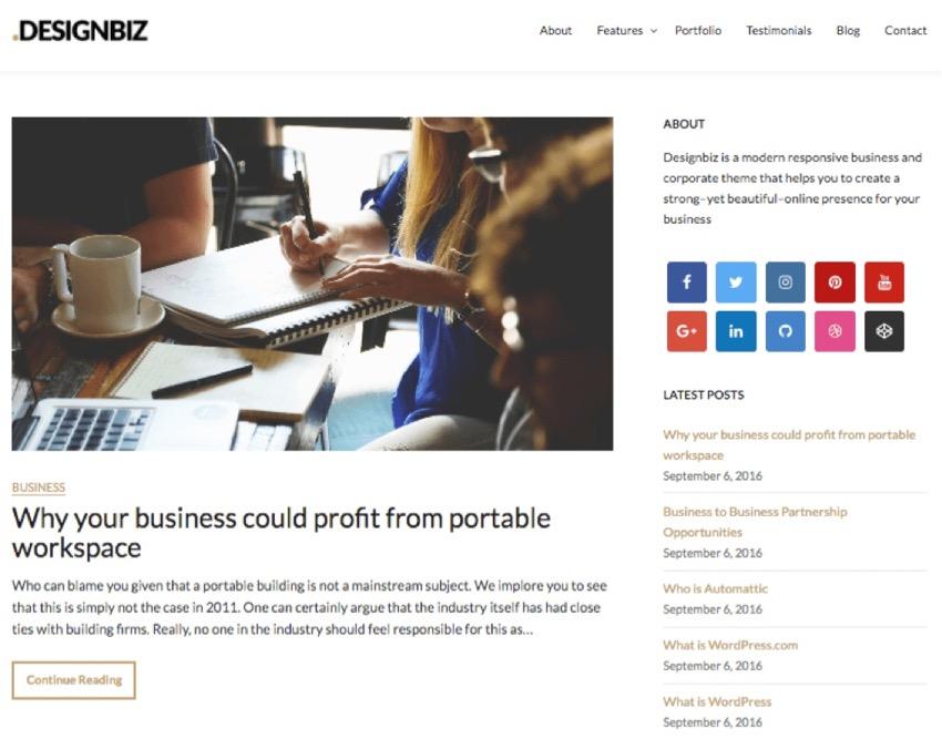 Dedicated Business Blog