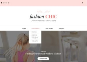 Fashion Chic WordPress Lifestyle Theme