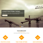 TF Construction WordPress Business Theme