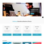 Moderna Free Bootstrap Corporate Template