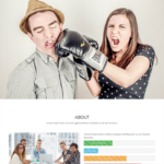 KnightOne Free One Page Bootstrap Template