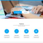 Bikin Free Simple Landing Page Template