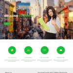 Company Free HTML Bootstrap Template