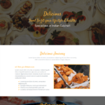 Delicious Free Cafe, Coffee Shop, Hotel Bootstrap Theme
