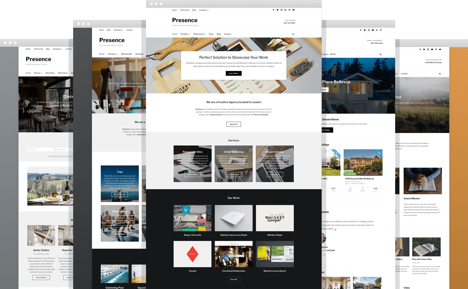 Presence WordPress Theme