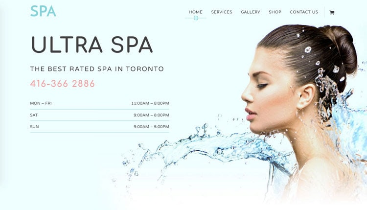 Ultra Spa WordPress Beauty Service Theme