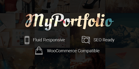 myPortfolio WordPress Showcase Works Theme