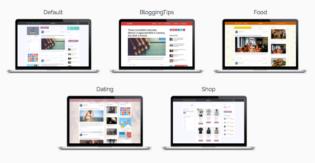 socialMe WordPress Multi Author Blog Theme