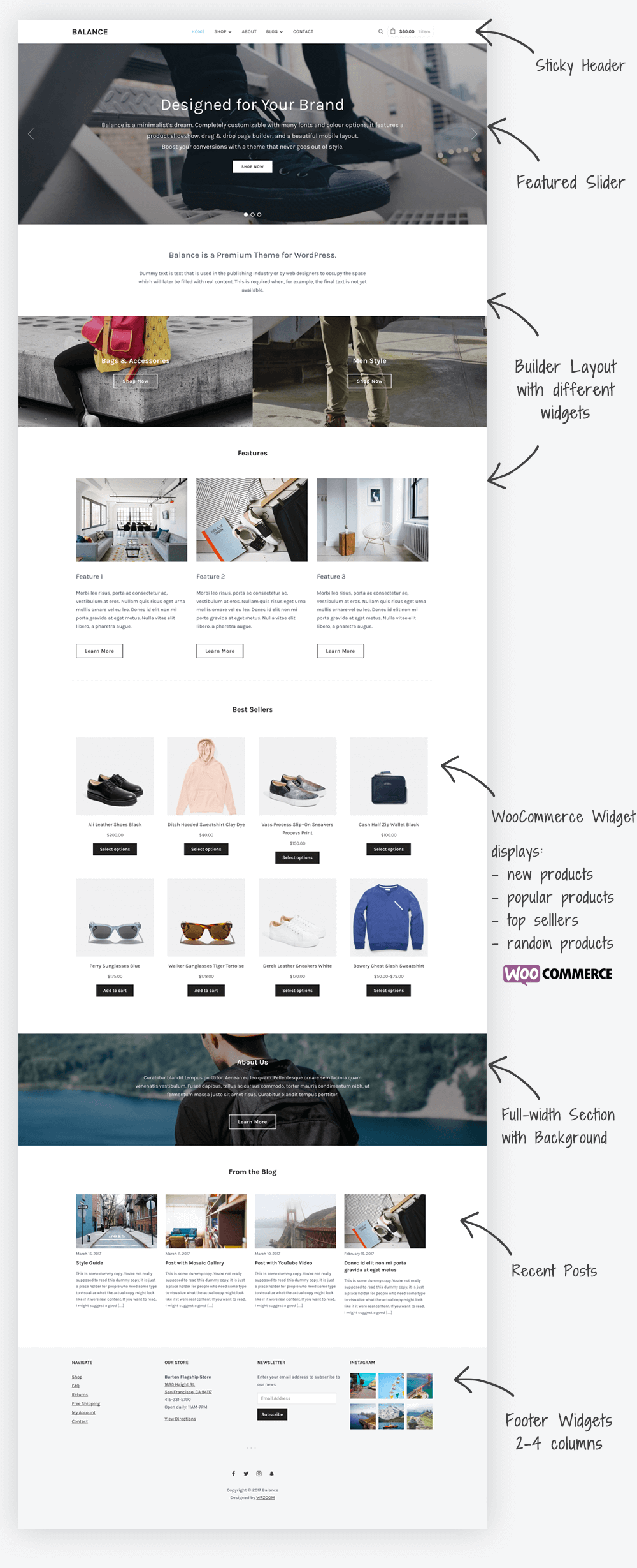 Balance WordPress Business & e-Commerce Theme