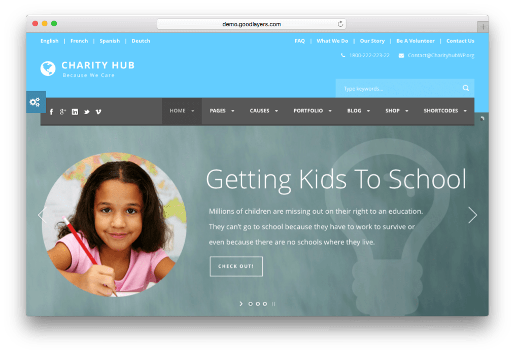 19 Best WordPress Non-profit Themes for Charity, NGO