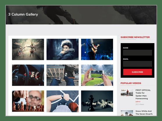 Create HD Wallpaper Website