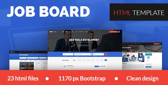 Dexjob Job Boards PSD Template