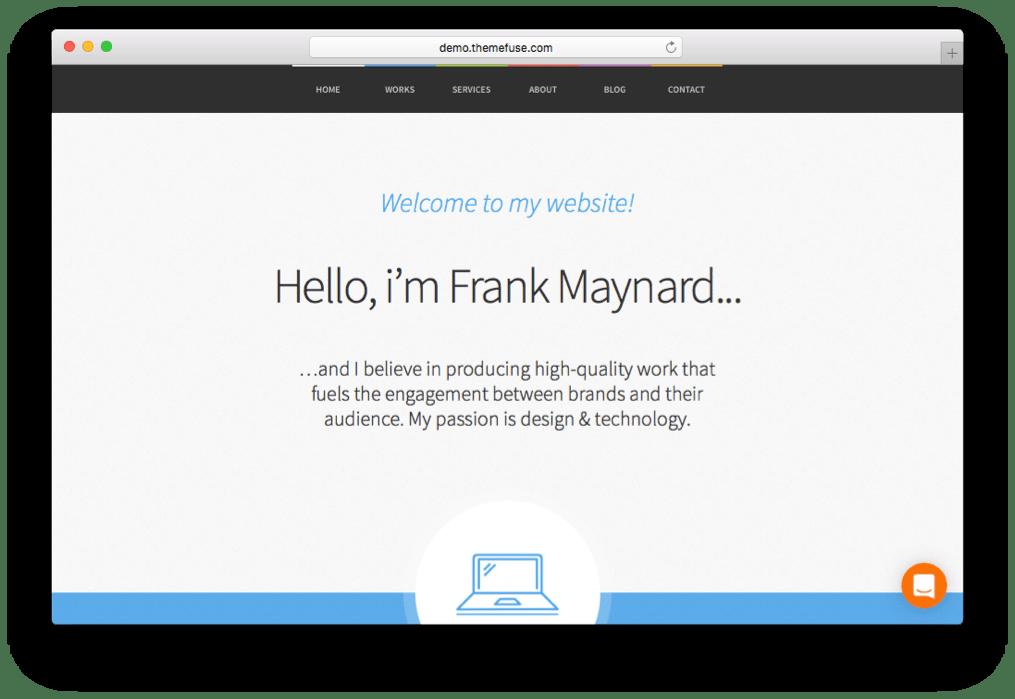 Freelancer One Page WordPress Theme
