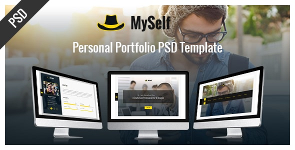 Myself-portfolio PSD Template