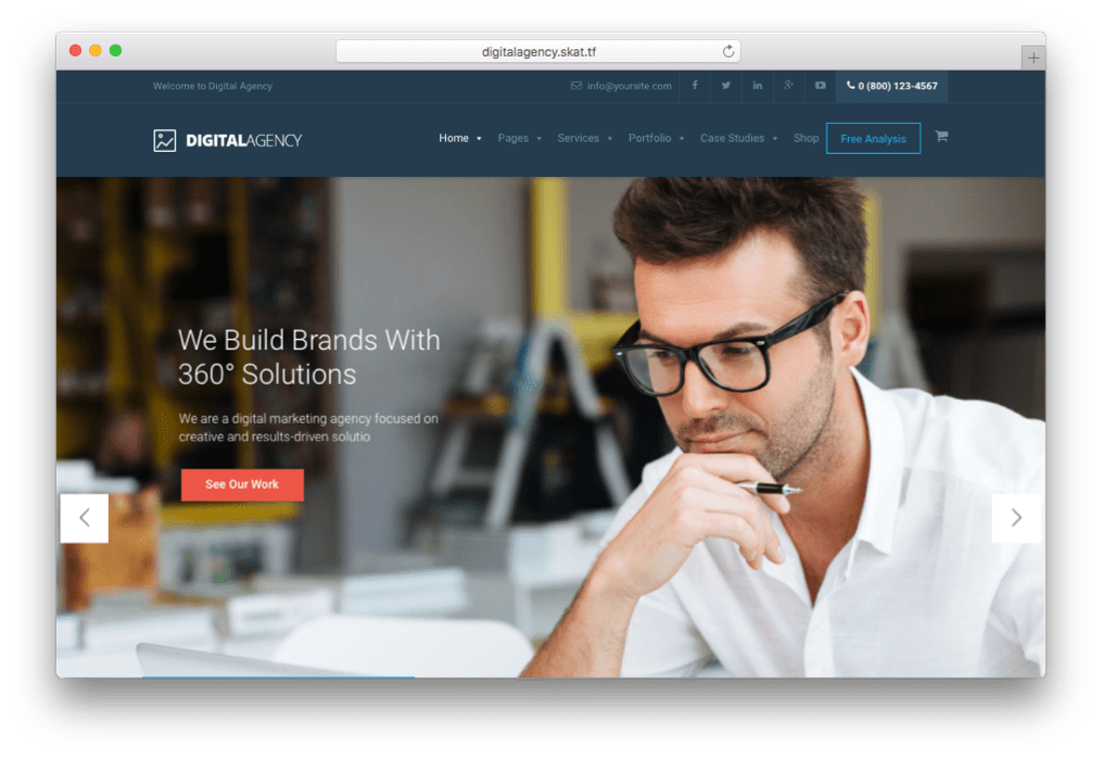 Digital Agency SEO & Digital Advertising Theme for WordPress