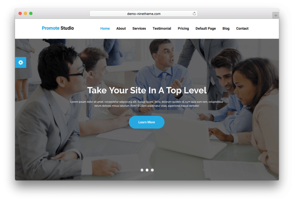 Promote Minimal Digital Marketing Theme for WordPress