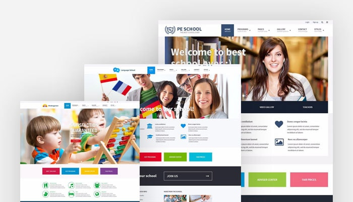 School WordPress Theme WCAG