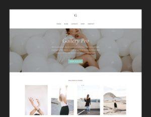 Gallery Pro WordPress Theme