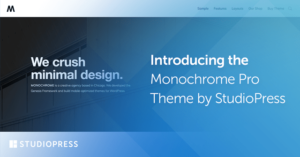 Monochrome Pro WordPress Theme